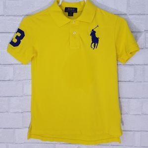 Polo Ralph Lauren Embroidered Yellow Polo shirt